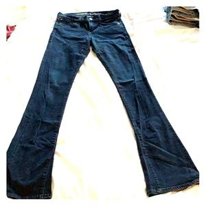Citizens of Humanity Dark Jeans Boot Cut Size 26